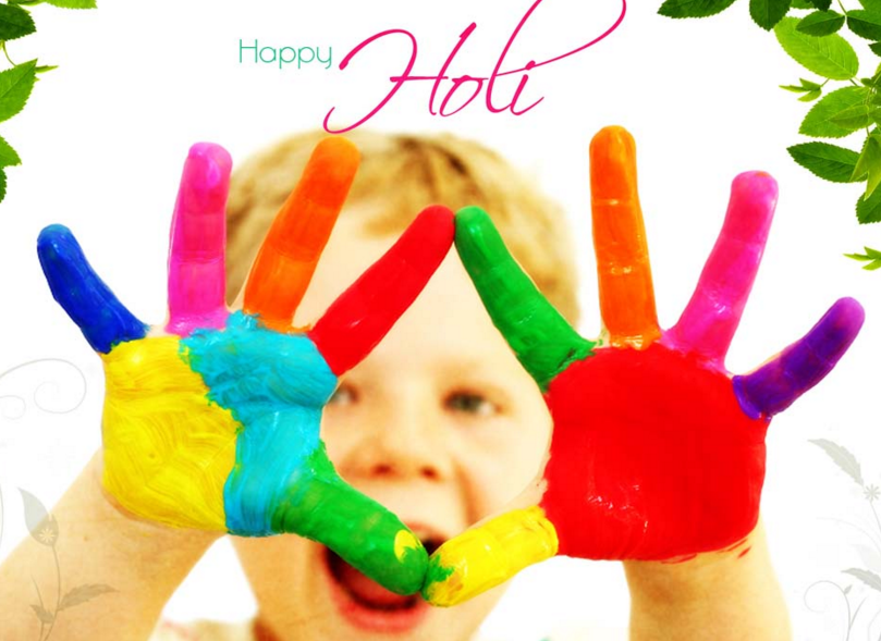 Happy Holi Msg SMS Text Status in Hindi