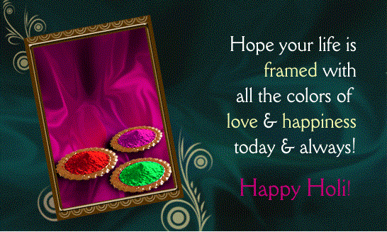 Happy Holi Wishes Animated Greetings Cards 2