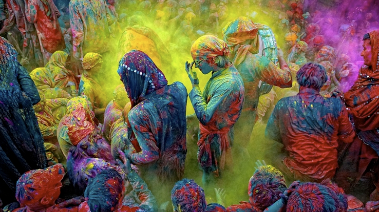 Happy Holi Wishes Messages in Kannada, Malayalam, Telugu, Nepali, Haryanvi