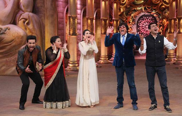 Rajpal Abhijeet Karishma Upen Comedy Nights Bachao Tonight On Colors Full Episode 6 March