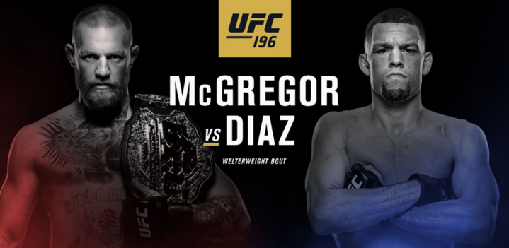 UFC 196 Conor Mcgregor VS Nate Diaz Match 2016 Details Complete Schedule Photos Video