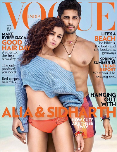 Alia Bhatt Sidharth Malhotra New Hot Bikini Photoshoot Pictures
