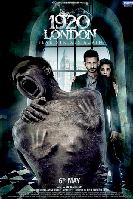 1920 London 2016 Horror Movie First Look Poster Wallpaper Released