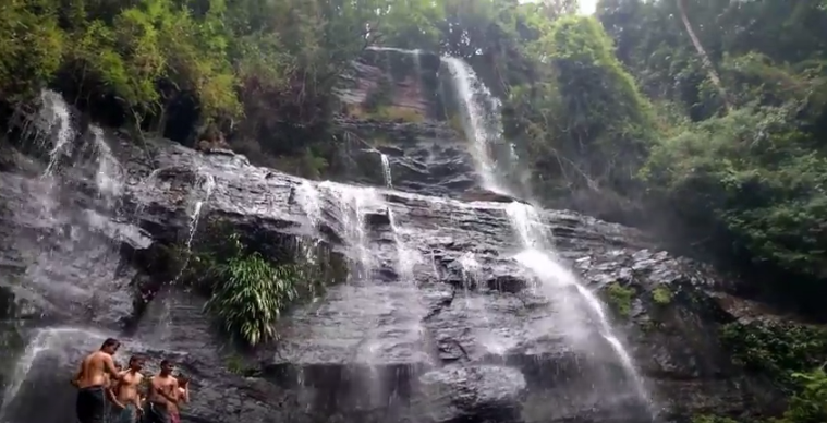 Amazing Best Butter Milk Waterfalls Video Chikmagalur Karnataka