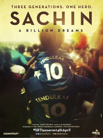 Sachin A Billion Dreams : Watch  Movie Trailer