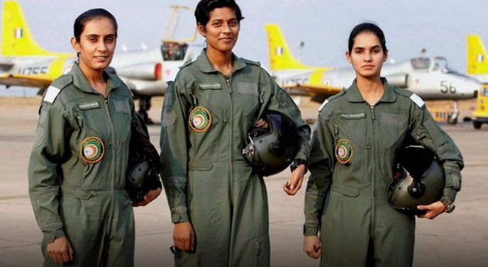 First Women Fighter Pilots in IAF Indian Air Force - Historic Day
