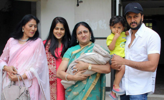 Rahyal Second Baby of Reteish Deshmukh & Genelia Cute Pics Photos Images