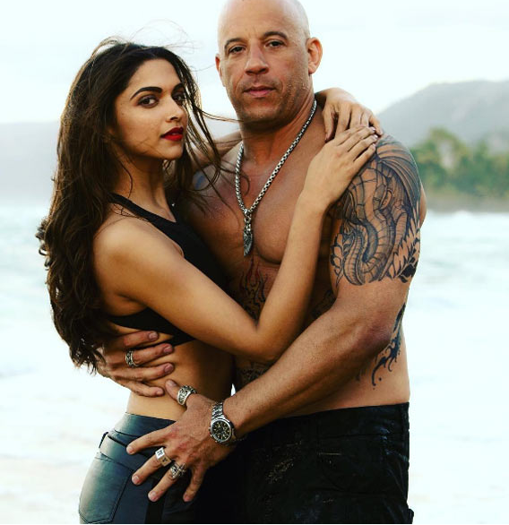 Vin Diesel Deepika Padukone XXX Movie Hot Images Photos