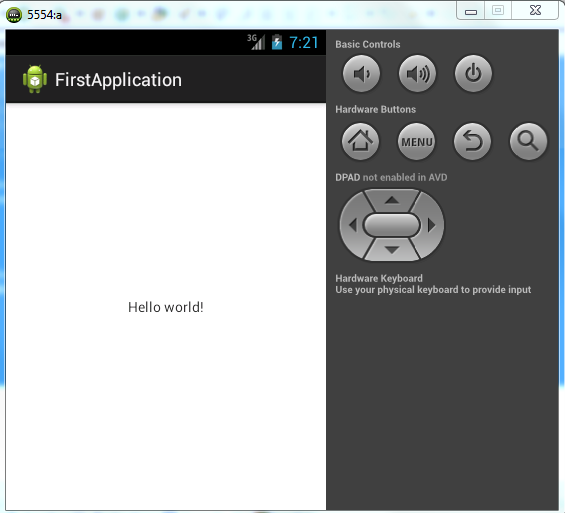 Android Tutorial: Hello World First Android Project