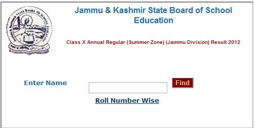 Check Jammu Kashmir 10th 12th Board 2015 Result Declared