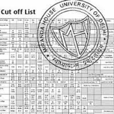 Delhi University Du 1st First Cut Off List 2016 College Wise for Art Commerce Science Admission