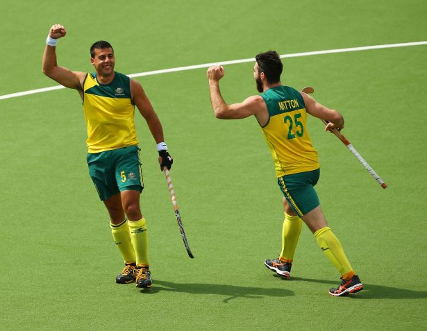 FIH Hockey World League 2015 Australia vs Great Britain (SF 1) Semi Final Match Result Score Board