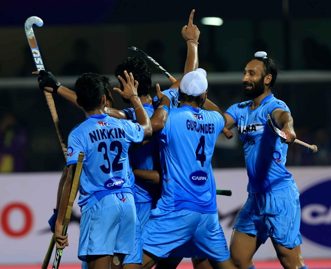 FIH Hockey World League 2015 India vs Belgium (SF 2) Semi Final Match Result Score Board