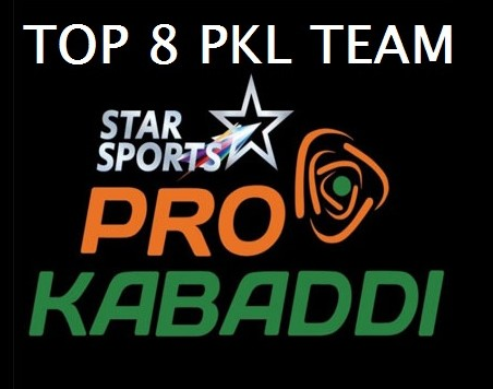 Pro Kabaddi 2015 League Table Points on 25th July