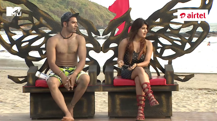 MTV Splitsvilla 8 2015 1st August Episode First King Queen Elimination Name
