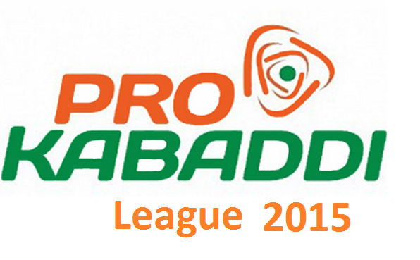 Pro Kabaddi 2015 Final League Table Points on 20th August