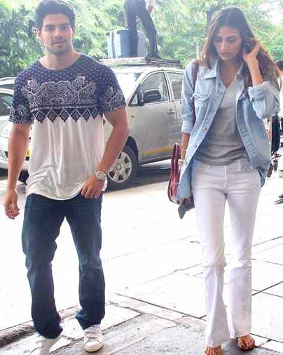 The new couple Chemistry of movie Hero 2015 Bollywood