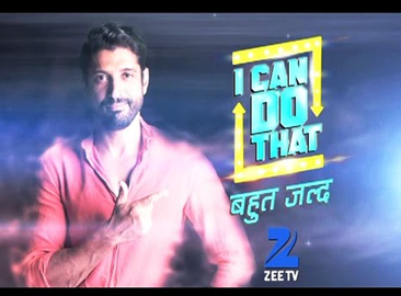 """ I Can Do That""  on Zee Tv Host name Contestants name"