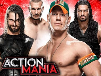 WWE Action Mania 16th September 2015 matches on Zee Cinema