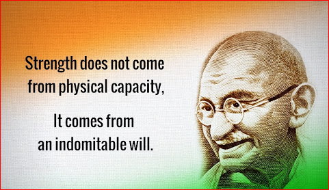 Gandhi Jayanti 2nd October Wishes Quotes in Hindi English