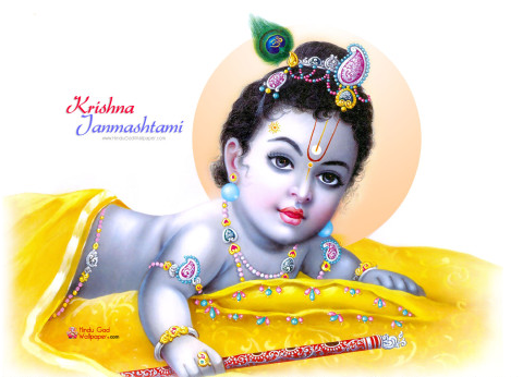 Happy Krishna Janmashtami Facebook Whatsapp Pics Photos DP Status Quotes Messages