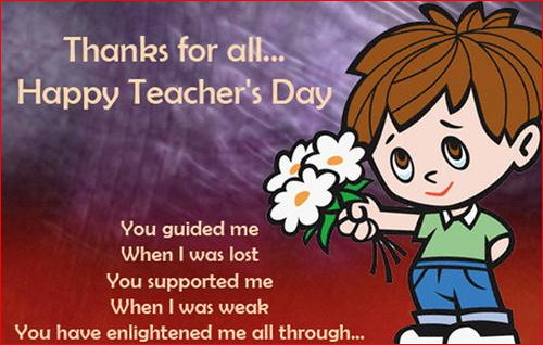 Happy Teachers Day Fb Whatsapp Twitter One Line Status Quotes in English