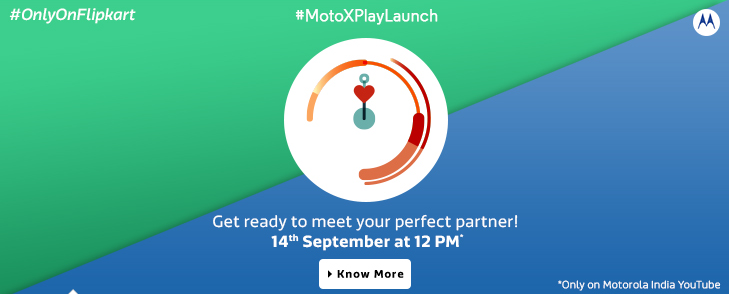 Motorola Moto X Play Launch Today in India on Flipkart Pre Order Book Now