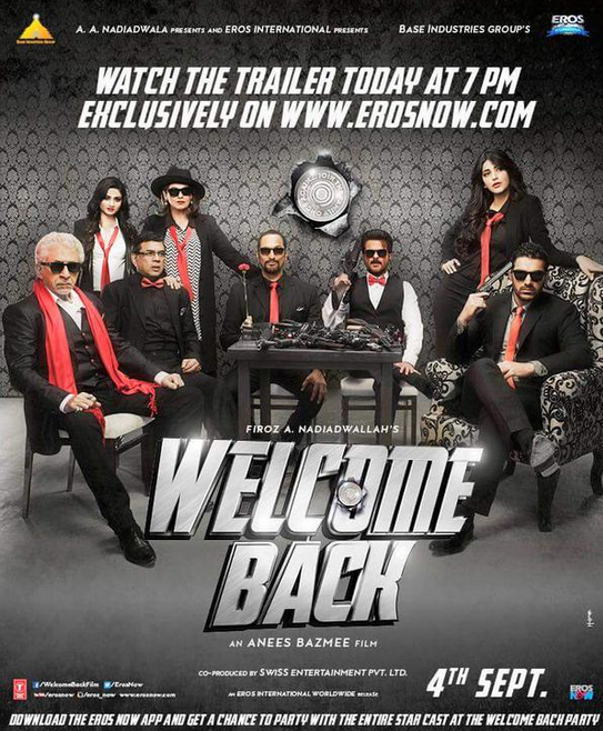 Welcome Back Movie 2015 11th Second Monday Box Office Collections