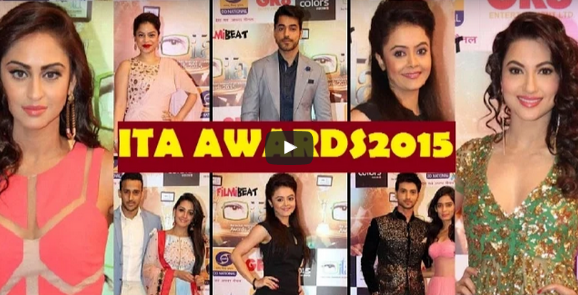 15th ITA Indian Television Academy Awards 2015 Colours TV 18th October Winner Nominations Names Details HD Video #ITAAwards2015