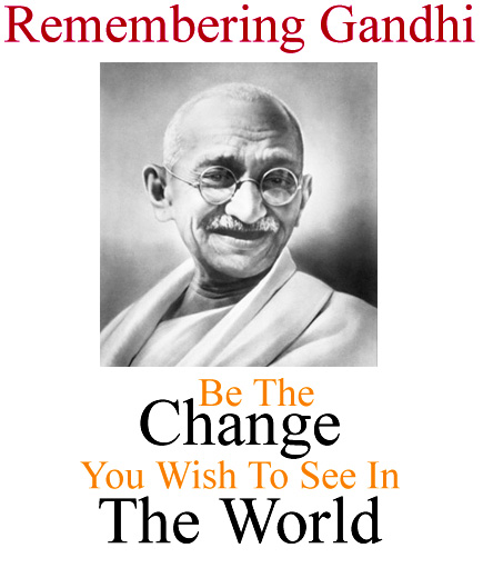 Gandhi Jayanti 2nd October Nepali Speech Poem Essay Status FB Whatsapp Twitter