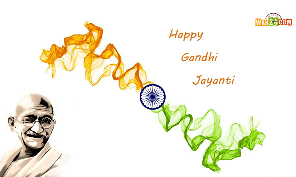 Gandhi Jayanti 2nd October Telugu Speech Poem Essay Status FB Whatsapp Twitter