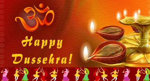 Happy Dussehra Navratri 2015 English SMS Messages Wishes Status