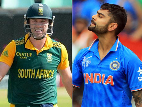 India vs South Africa 1st ODI 11th October 2015 Match Schedule Live Score Board Team Squad