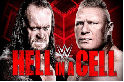 "WWE "" Hell in a Cell"" 2015 Live Undertaker Vs Brock Lesnar Fight Match October 2015"