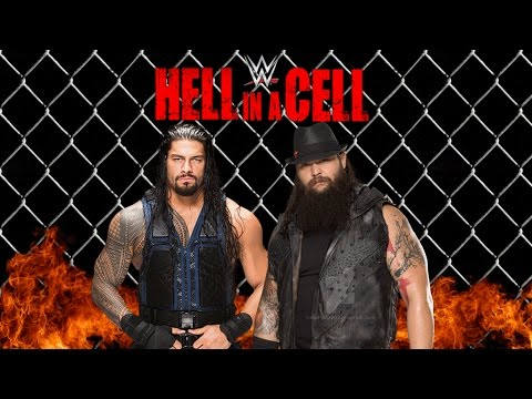 WWE Hell in a Cell Live 26th October 2015 Roman Reigns Vs. Bray Wyatt Match Fight