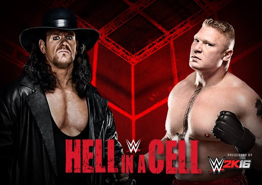 WWE Hell in a Cell Live  26th October 2015  Undertaker Vs Brock Lesnar Fight Match