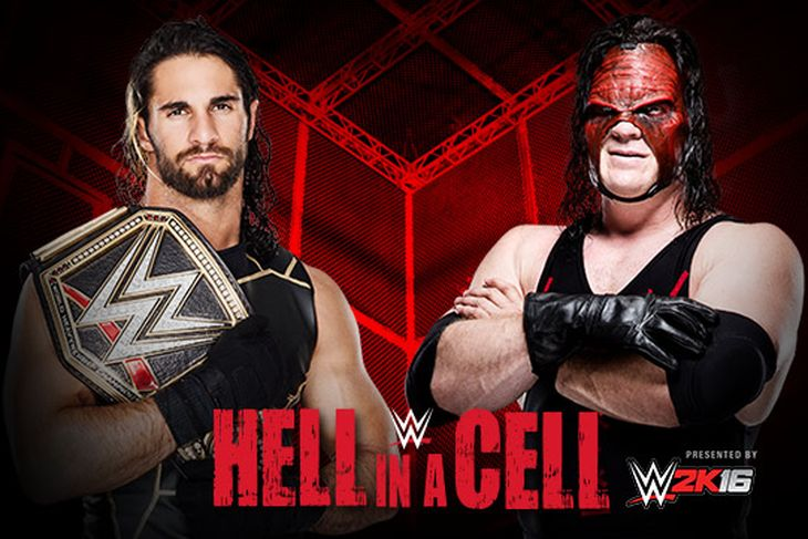 WWE : Seth Rollins Vs. Demon Kane Fight  WWE Hell in Cell Match Details