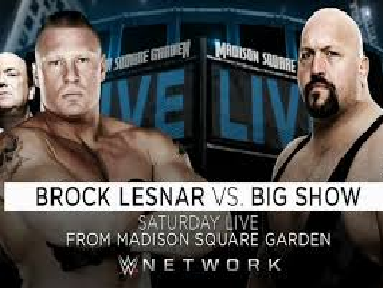 WWE Live Madison Square Garden 2015 Results John Cena Seth Rollins Brock Lesnar Big Show Highlights