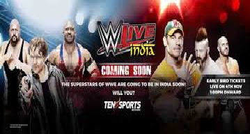 WWE Live In India 2016 Tickets Superstars Match Show details