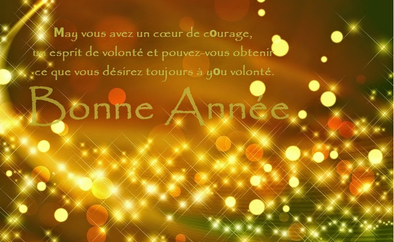 Happy New Year 2016 Wishes Greetings in French Spanish
