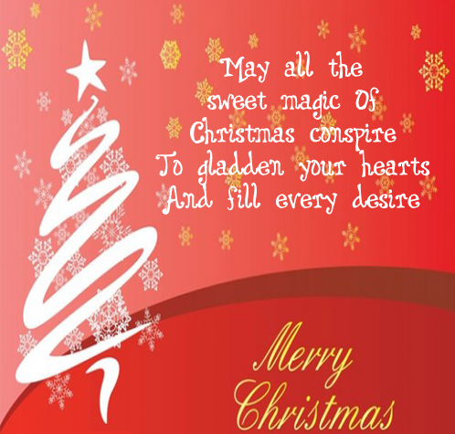 Merry Christmas Happy Xmas 2015 One Single Line Whatsapp, Facebook Status