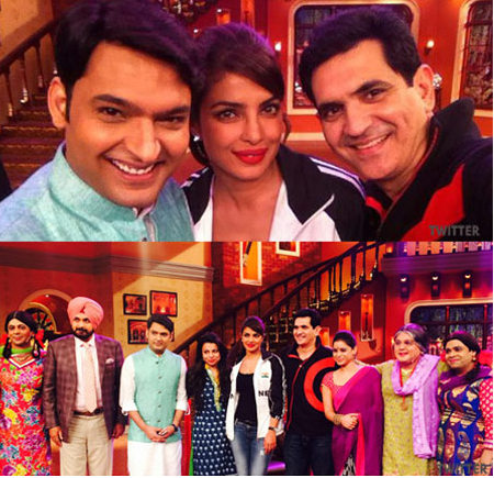 Priyanka Chopra Sanjay Leela Bhansali in CNWK Comedy Nights With Kapil 27th December Full Episode Show HD Video
