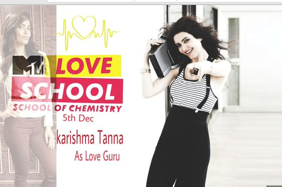 Watch Upen Karishma MTV Love School Episode 3 HD Tonight 19 December HD Live Video