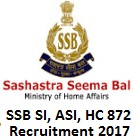 Sashastra Seema Bal Jobs 2017 Online Application Form, Imp Dates | ssb.nic.in