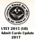 Uttarakhand TET UTET 2017 Admit Card Hall Tickets | bse.uk.gov.in