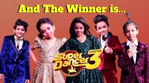 Super Dancer 3 22nd June 2019 Grand Finale Winner